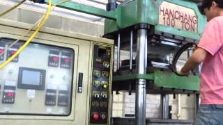 EVA Foam Compression Molding Machine - How to mdae EVA EVA Foam