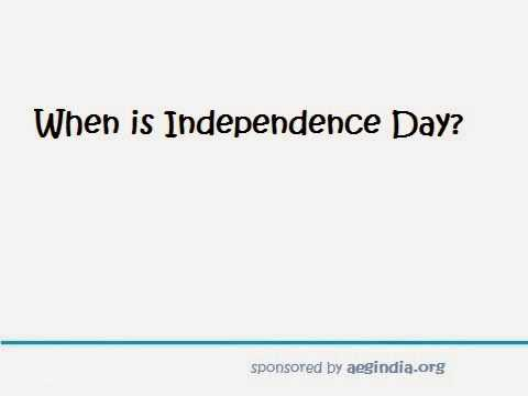 When is Independence Day 2014?