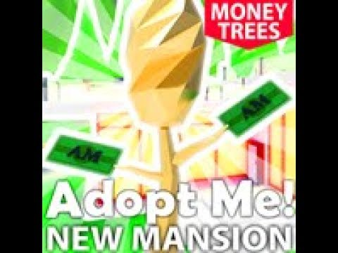 Adopt Me New Modern Mansion And Money Tree Update Trying Save