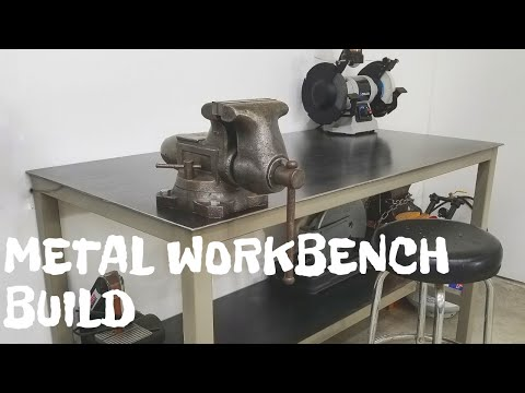 Metal Workbench Build