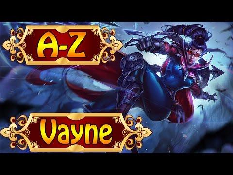VAYNE, Die Jägerin der Nacht - League of Legends A-Z