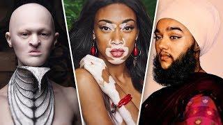 ''СТРАШНО КРАСИВЫЕ'' модели с нестандартной внешностью