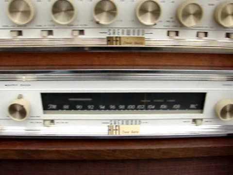 Sherwood 1963 Stereo Hi Fi In Custom Barzilay Cabinet   Song   I Really  Love You The Stereos 1961
