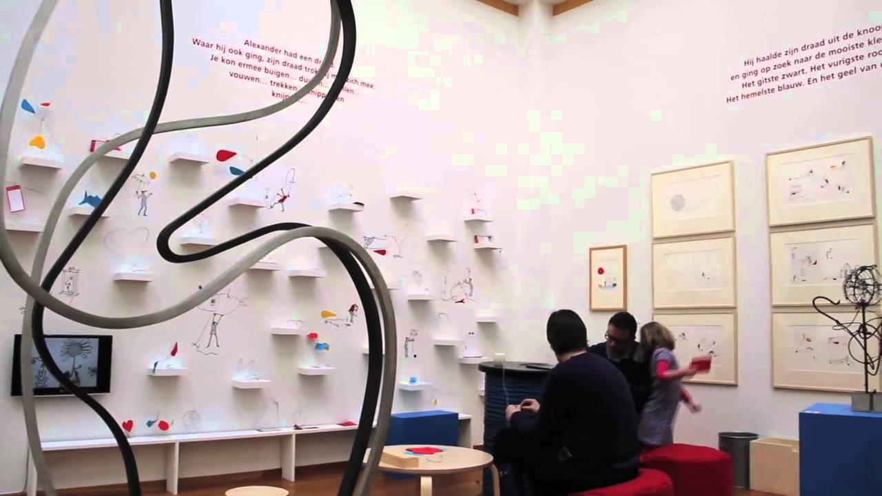& De draad van Alexander Calder door Sieb Posthuma - YouTube