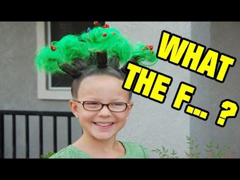 Niños que fueron a la escuela con un peinado bastante LOCOS