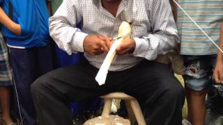 Cum se face o lingura de lemn