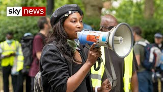 Black Lives Matter activist Sasha Johnson critical after shooting