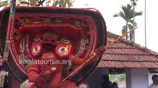 Vettaikkorumakan Theyyam, Sree Kuttiyattur Puliyoor Kali Temple, Kannur