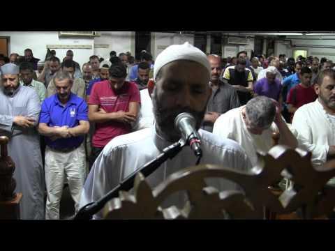 جانب  من صلاة التراويح  1437  نيوجيرسى  أمريكا   الشيخ حسن صالح     hassan saleh
