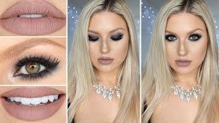 Limecrime Cashmere! ♡ Taupe Lips & Black Smokey Eyes!