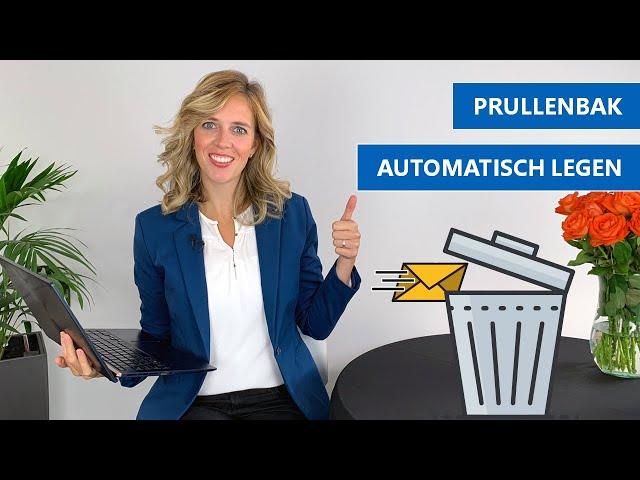 Je prullenbak automatisch legen | Outlook tip