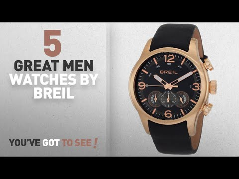 Top 10 Breil Men Watches [ Winter 2018 ]: Breil Milano Men's TW0775 New Globe Rose Gold Chronograph