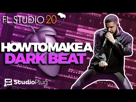 How To Make A Fire Drake Type Beat On FL Studio | Dark Trap Beat Tutorial