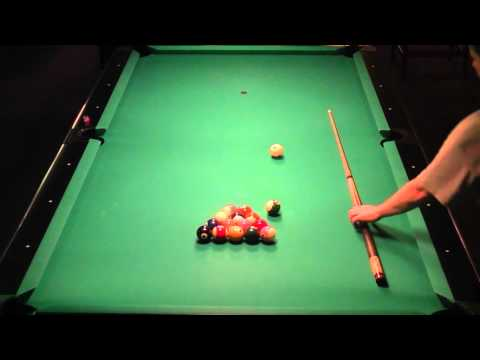 Straight Pool 99 Ball Run