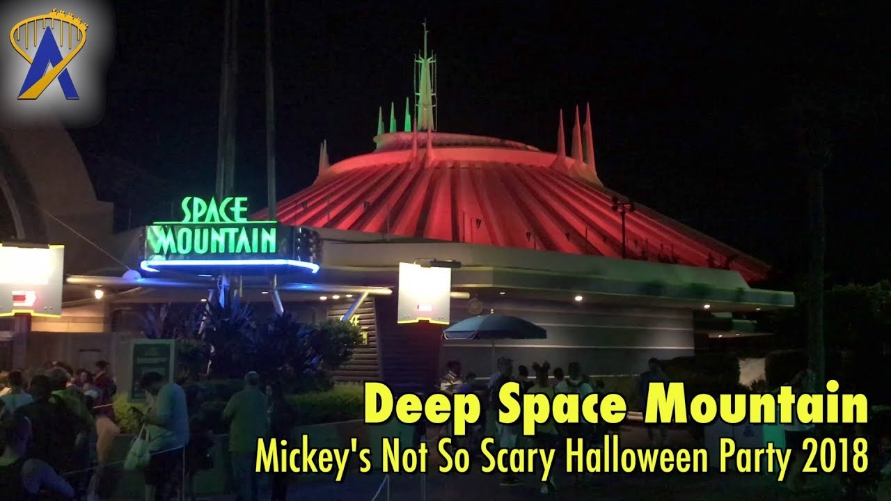 deep space mountain lights out for mickey's not so scary halloween