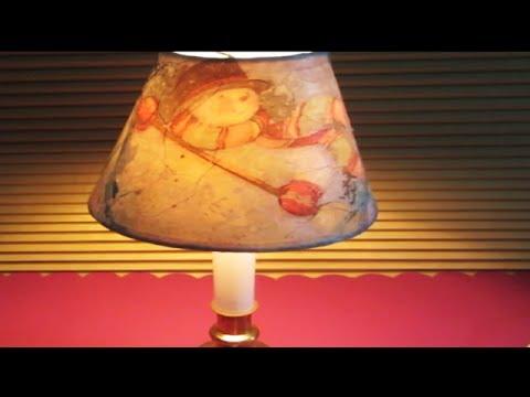 DIY Christmas Lamp Shade