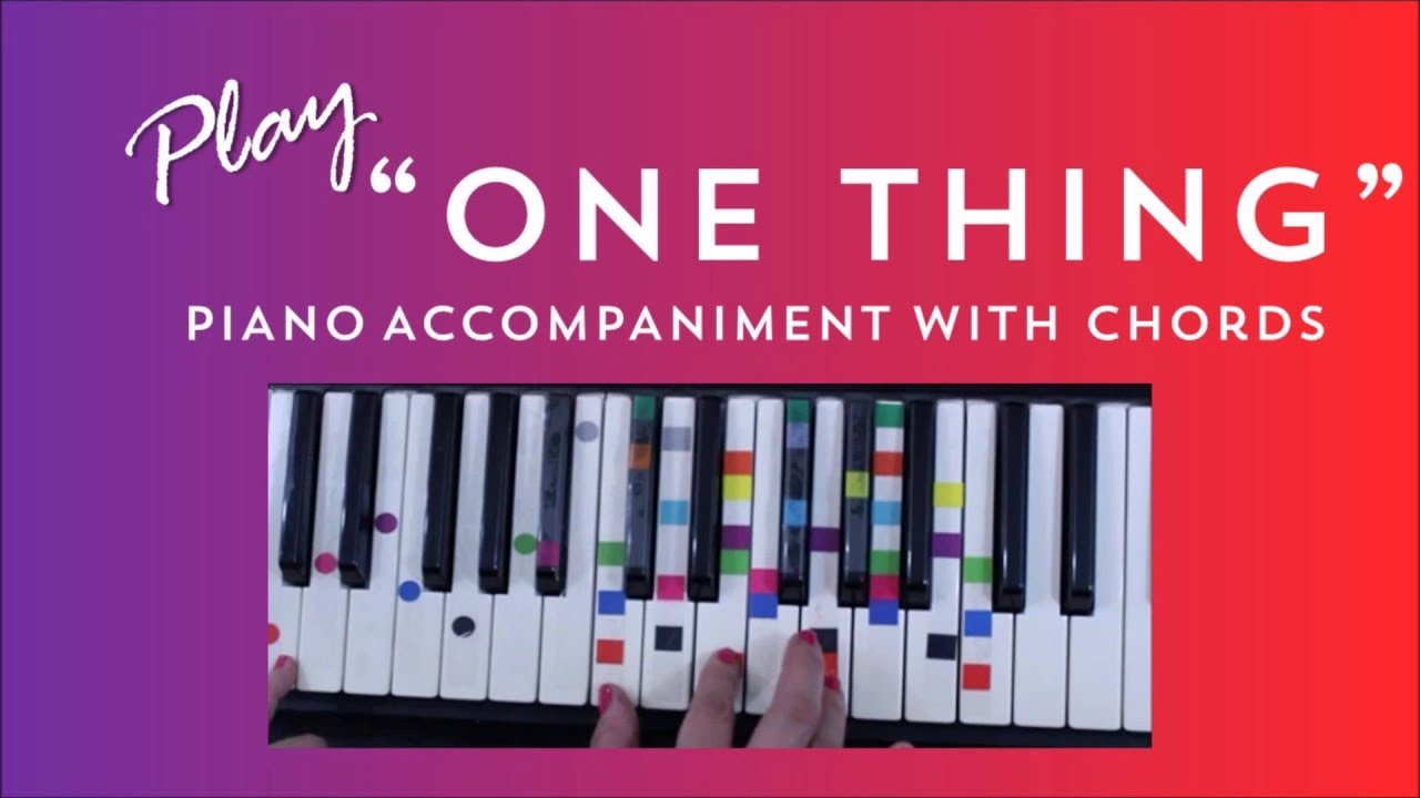 One thing easy piano tutorial one direction youtube one thing easy piano tutorial one direction hexwebz Images