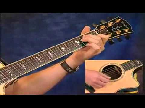 Guitar Chord Progressions Using a Movable Chord Shape - YouTube