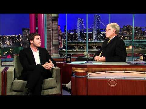Jake Gyllenhaal on Letterman (11/17/10) - HD - Part 2/2