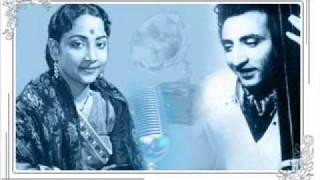 Geeta Dutt, G M Durrani : Nazuk dil hai : Film - Dil Ki Basti (1949)