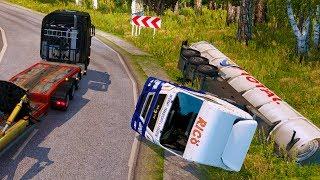 Самый Опасный Спуск - Euro Truck Simulator 2
