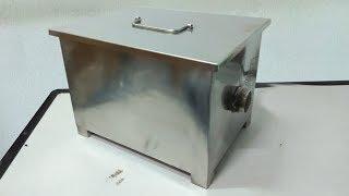Sistem kerja greasetrap GREASE TRAP STAINLESS Penyaring minyak dan lemak