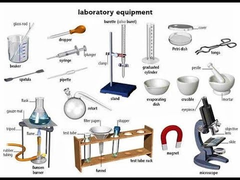 Some Important Chemistry Lab Apparatus For Hs Students || By TET KK