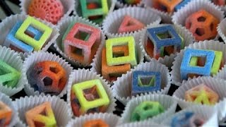 3-D Printers Hit The Sweet Spot: Dessert
