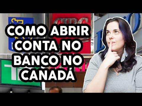 COMO ABRIR UMA CONTA BANCÁRIA NO CANADÁ