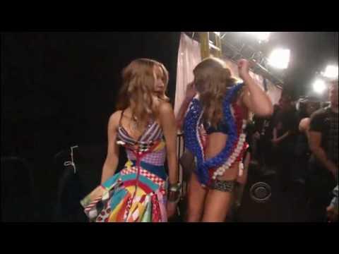 Black Eyed Peas- Meet me Halfway LIVE HD in Victoria's Secret show