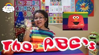 ABC learn english with Elmo and Thalia! For Kids Disney sesame street Elmo on the go letters!