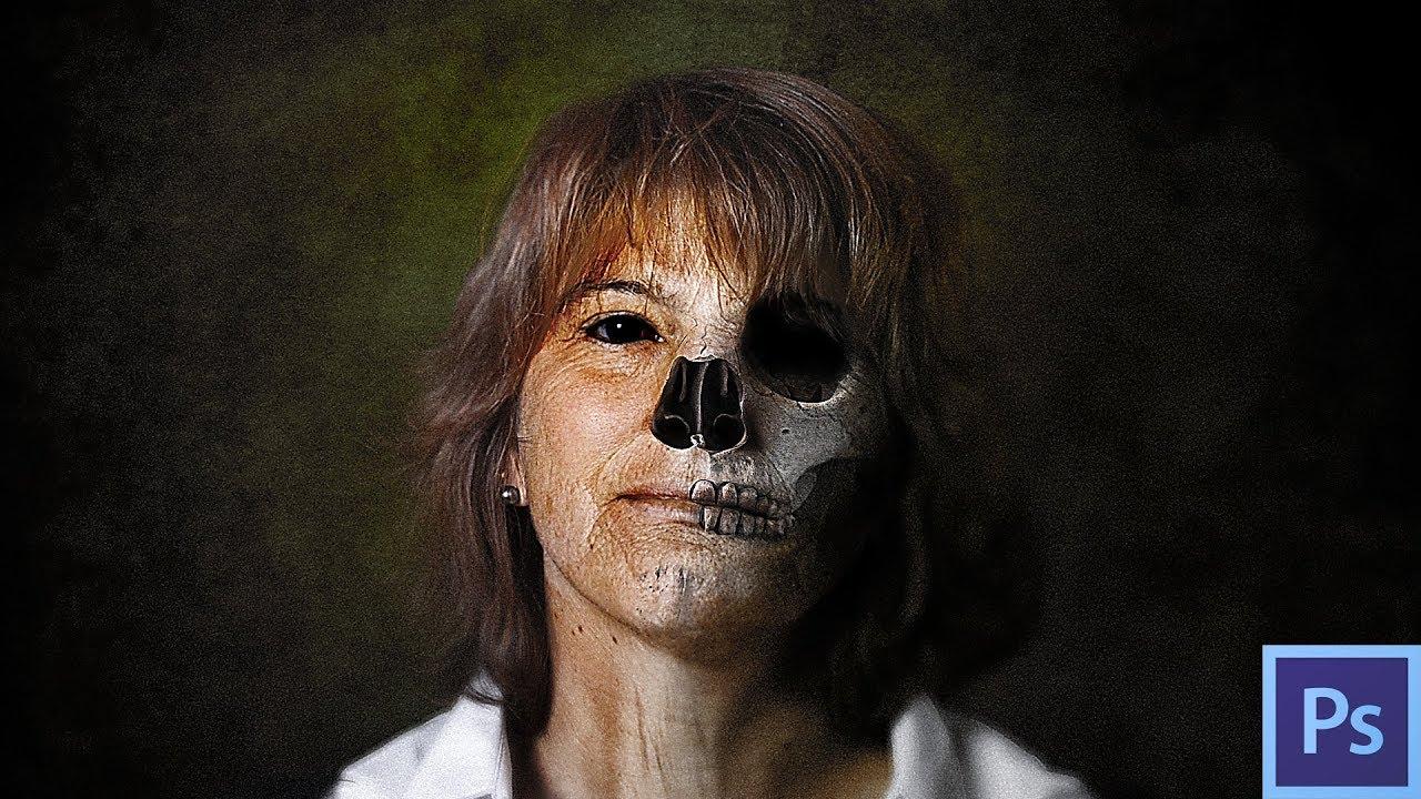 en ligne grand Prix chaussures décontractées Comment faire un masque Halloween avec Photoshop