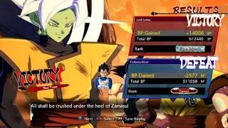 DRAGON BALL FighterZ Ranked Action #2 Achieving Super Saiyan 3