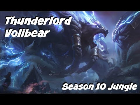 League of Legends: Thunderlord Volibear Jungle Gameplay