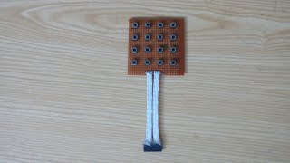 DIY 4×4 Arduino Keypad | How to make Arduino Keypad | Arduino Project