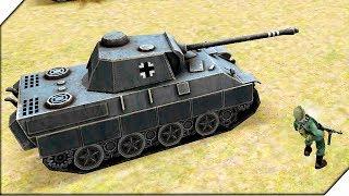 ПЕХОТА ПРОТИВ ПАНТЕР - Игра WW2 Battle Simulator # 4