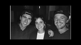 Harry Potter Reunion: Tom Felton's Picture With Emma Watson, Matthew Lewis Leave Potterheads Elated