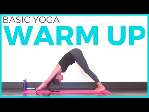 Basic Yoga Warm Up | Pre Workout Yoga, Yoga for Beginners, & Free Flow!
