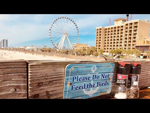 Pier 14 Restaurant - Ocean Views For Days - Myrtle Beach, SC
