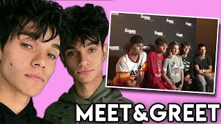 The Miserable Dobre Twins Meet and Greet