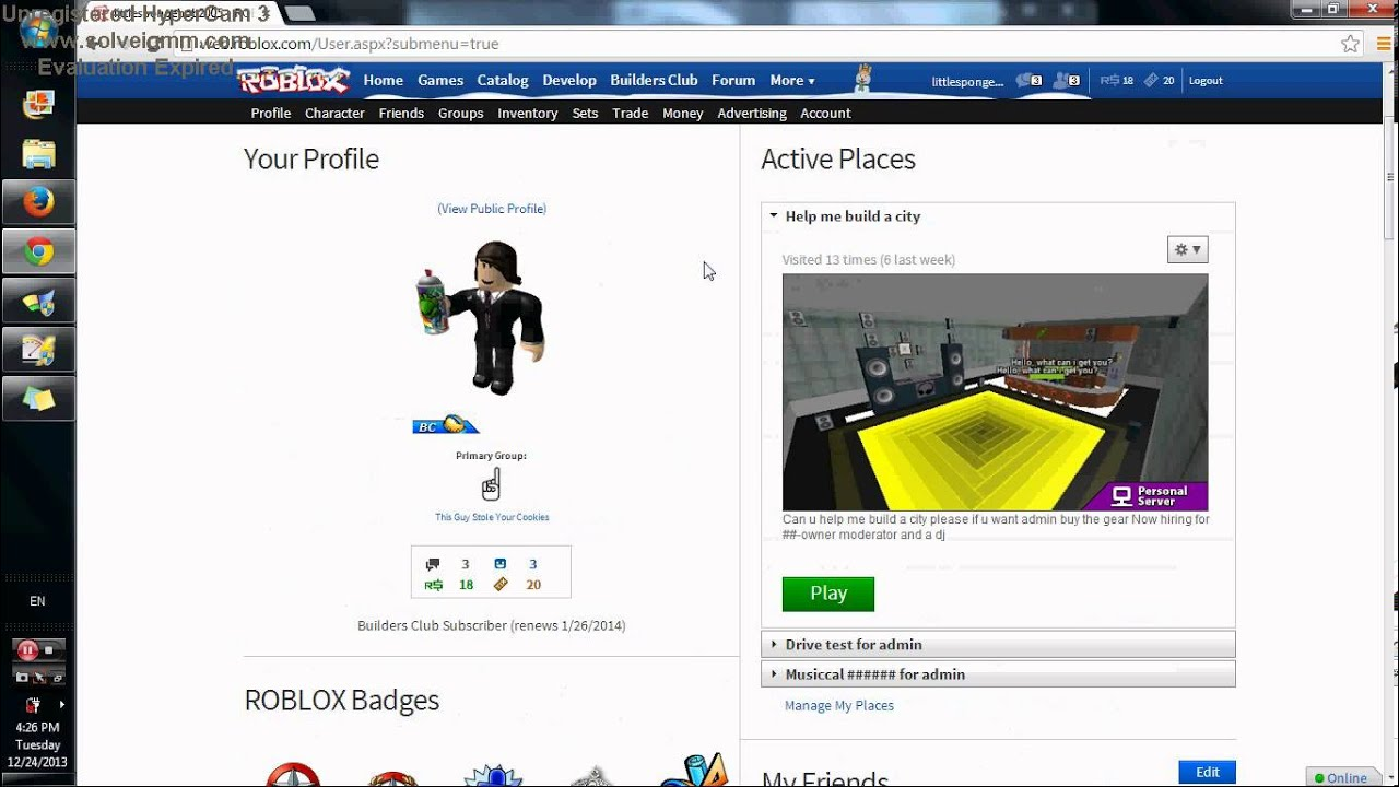 ROBLOX BC ACCOUNT GIVEAWAY YouTube
