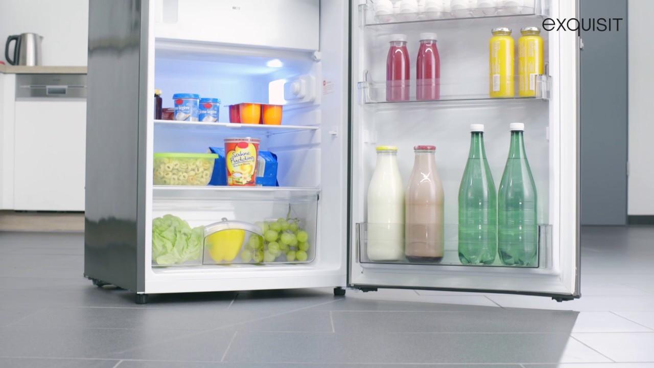 Kühlschrank Exquisit : Kühlschrank ks a youtube