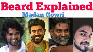 Beard Explained | Tamil | Madan Gowri | MG