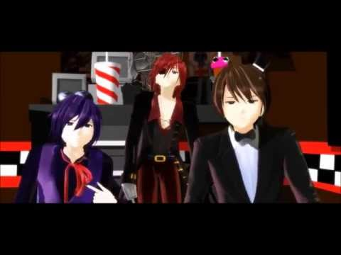mmd everybody five nights at freddy s human ver youtube