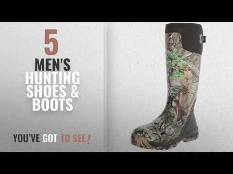 """Top 10 Men'S Hunting Shoes & Boots [2018]: LaCrosse Men's Alphaburly Pro 18"""" Hunting Boot,Realtree"""