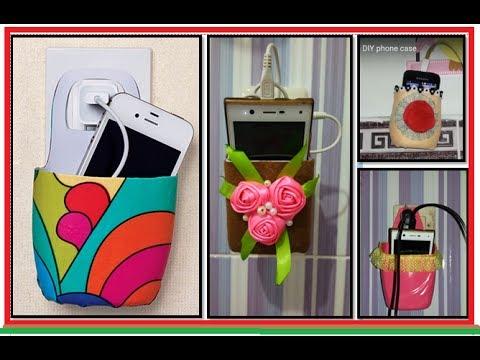 creative ideas from bottle - DIY phone case