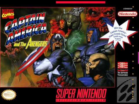 Captain America And The Avengers soundtrack (snes) FULL