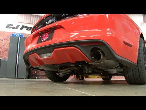 S550 Mustang EcoBoost MRT Turbo-Back Sound Clip Comparison