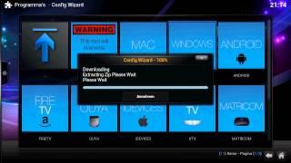 Kodi installatie addon pakket Tv addons