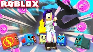 FULL SUPER HERO SHINY PET TEAM! | Roblox Magnet Simulator
